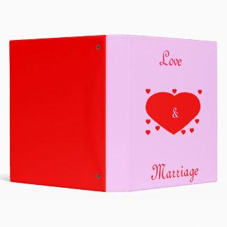 Love Marriage Binder