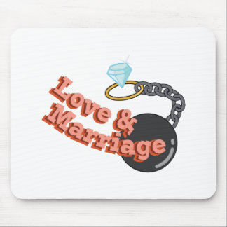 Love & Marriage Mouse Pad