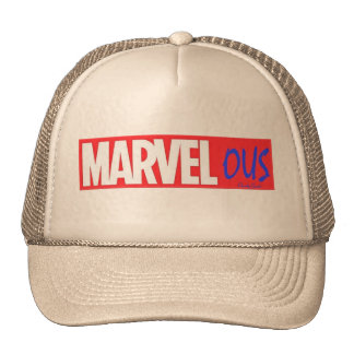 Love Marvel ? Marvelous by Chordy Goods Trucker Hat