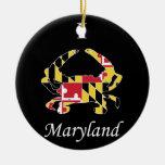 Love Maryland Christmas Ornament