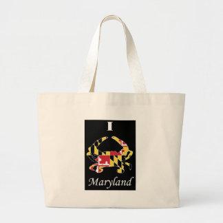 Love Maryland Large Tote Bag