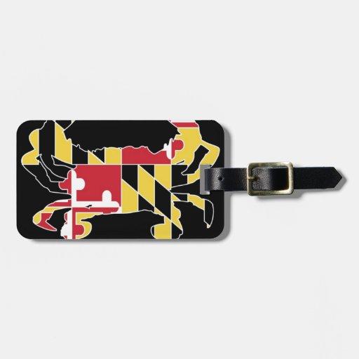Love Maryland Luggage Tag