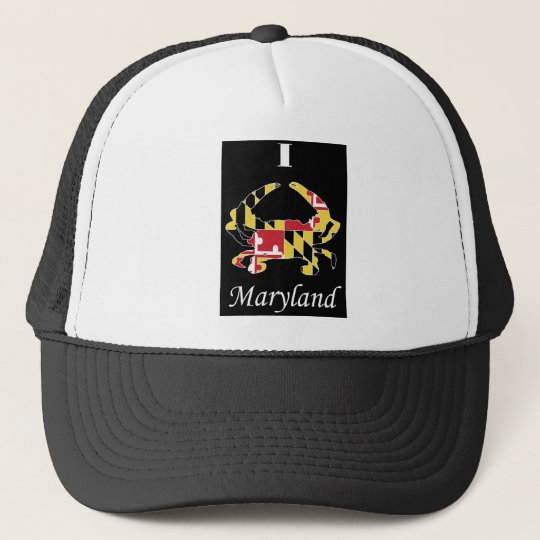 Love Maryland Trucker Hat