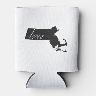 Love Massachusetts Can Cooler