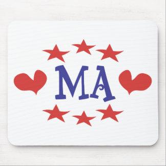 Love Massachusetts - Thanks MA and Senator Brown Mouse Pad