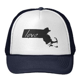 Love Massachusetts Trucker Hat