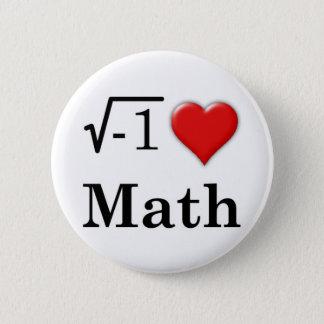 Love math button