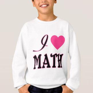 Love Math Pink Heart Logo Sweatshirt