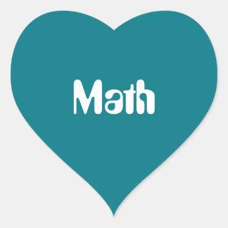 "Love ""Math"" Stickers"