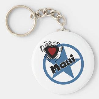 Love Maui Key Chain