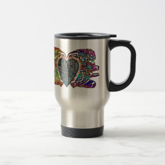Love-Maze Travel Mug