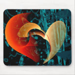 Love Me Abstract Art Mouse Pads