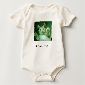 Love me! baby bodysuit