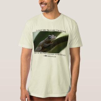 Love me before I'm gone - Gladiator frog Tshirts