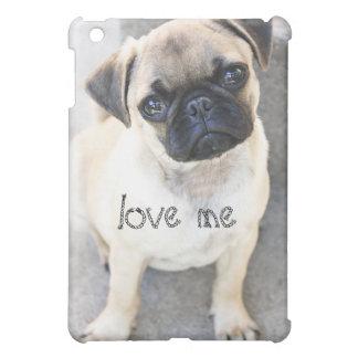 love me - cute mops iPad mini case