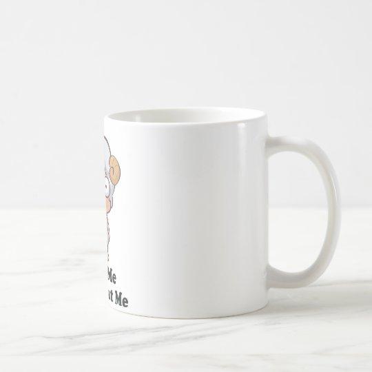 Love Me Don't Eat Me Sheep Design Coffee Mug