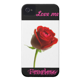 Love me fearless (rose) Case-Mate iPhone 4 case