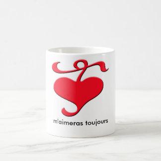 """""""Love Me Forever"""" French Mug"""