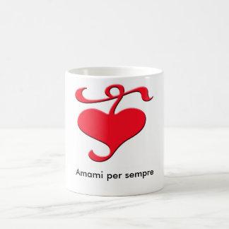 """""""Love Me Forever"""" Italian Mug"""