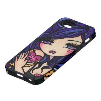 Love Me Heart Fantasy Girl Art iPhone Case
