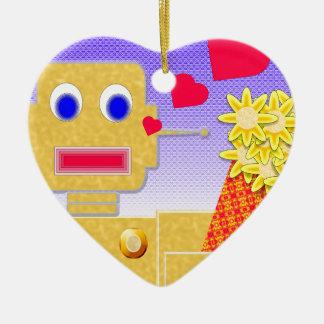 Love Me I m a Bot Ornaments