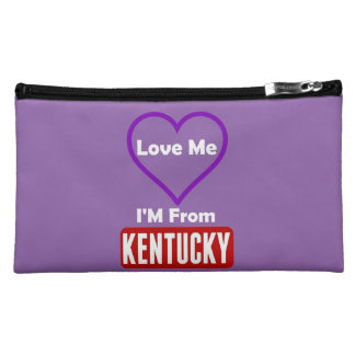 Love Me, I'M From Kentucky Makeup Bag