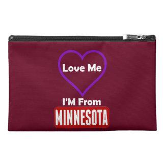 Love Me, I'M From Minnesota Travel Accessory Bag