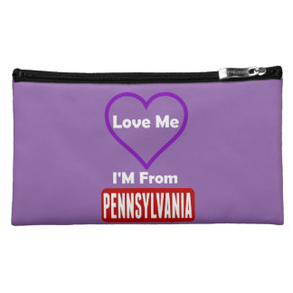 Love Me, I'M From Pennsylvania Cosmetic Bag