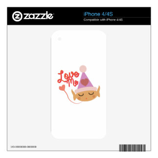 Love Me iPhone 4 Skin