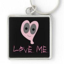 Love me  key chain