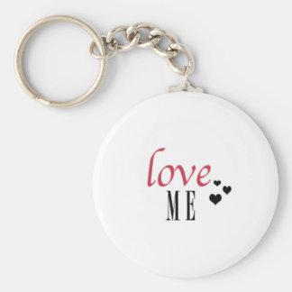 """""""Love Me"""" Keychain"""
