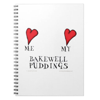 love me love my bakewell puddings, tony fernandes notebook