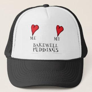 love me love my bakewell puddings, tony fernandes trucker hat