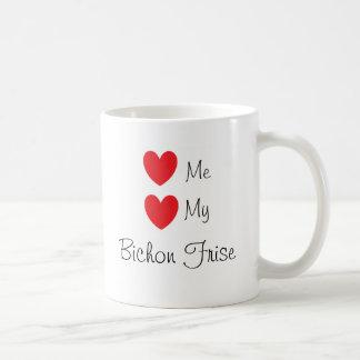 """""""Love me, Love my Bichon Frise"""" Mug"""