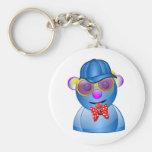Love Me Love my Blue Teddy Keychains