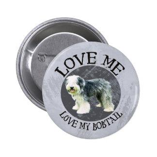 Love me, love my Bobtail Pin