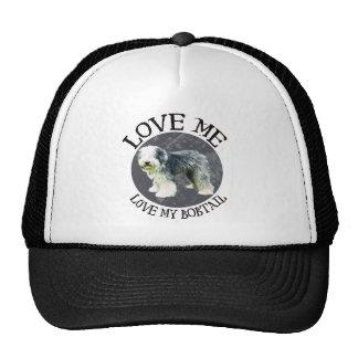 Love me, love my Bobtail Trucker Hat