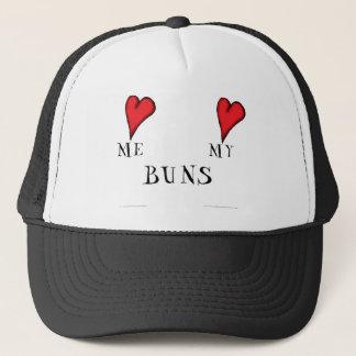 love me love my buns, tony fernandes trucker hat