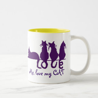 Love me, love my cat 15oz Mug