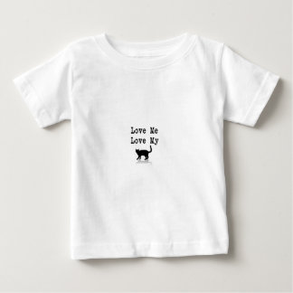 Love Me Love My Cat Baby T-Shirt