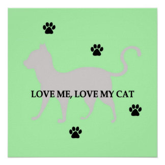 Love Me, Love My Cat Poster
