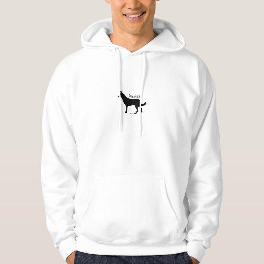 Love Me Love My Dog  - German Shepherd Hoodie