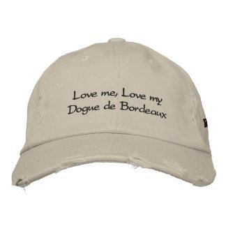 Love me, Love my Dogue de Bordeaux Stonewashed Cap