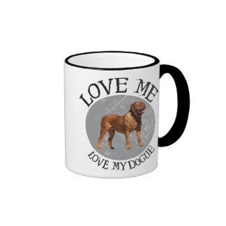 Love me love my Dogue Coffee Mug