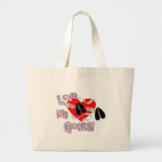 Love Me? Love My Goats! Canvas Bag
