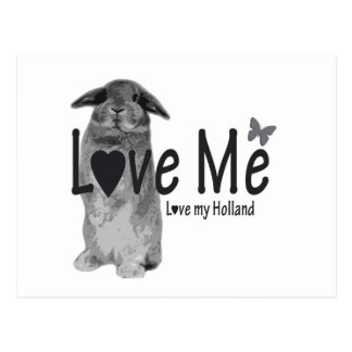 Love me, love my Holland postcard