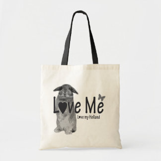 Love me, love my Holland Tote Bag