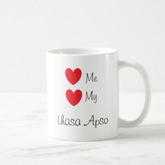 """""""Love me, Love my Lhasa Apso"""" Mug"""
