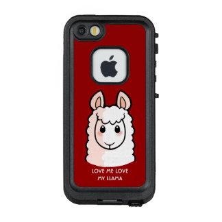 Love Me Love My Llama LifeProof FRĒ iPhone SE/5/5s Case