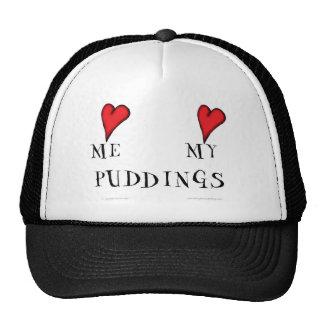 love me love my puddings, tony fernandes trucker hat